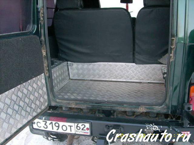 Автомобильный экспедиционный багажник на уаз патриот, uaz